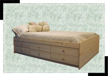 Beds With Built In Storage Drawers Made In San Diego Usa