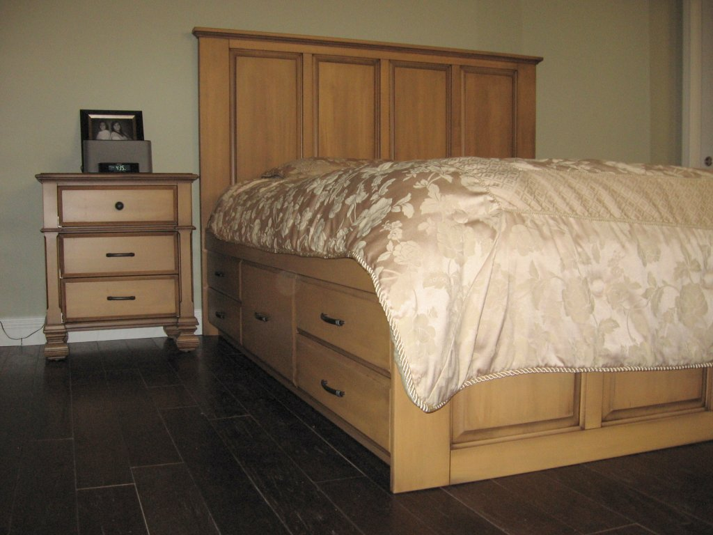 custom bedroom furniture gallery 11337 | bed1