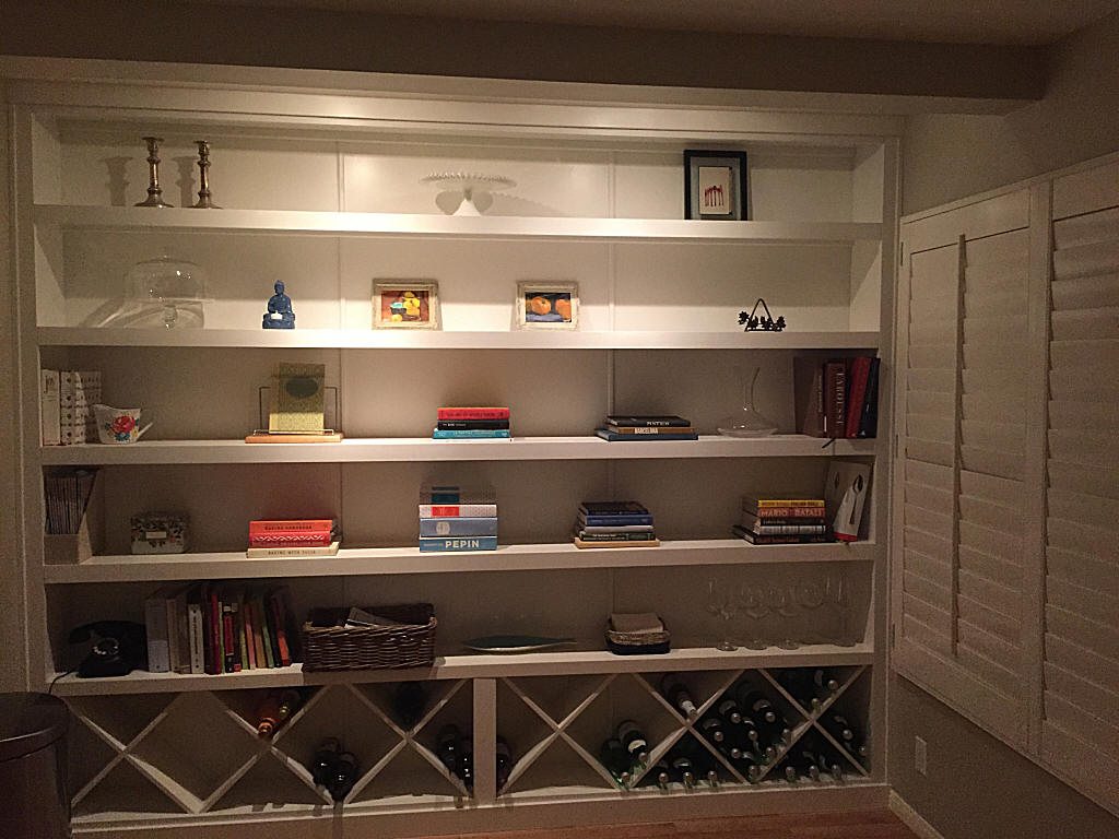 Custom Bookcases and Home Library - Made in San Diego