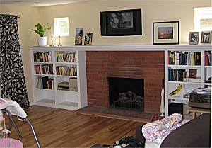 Solid Wood Custom Fireplace Mantels and Surrounds