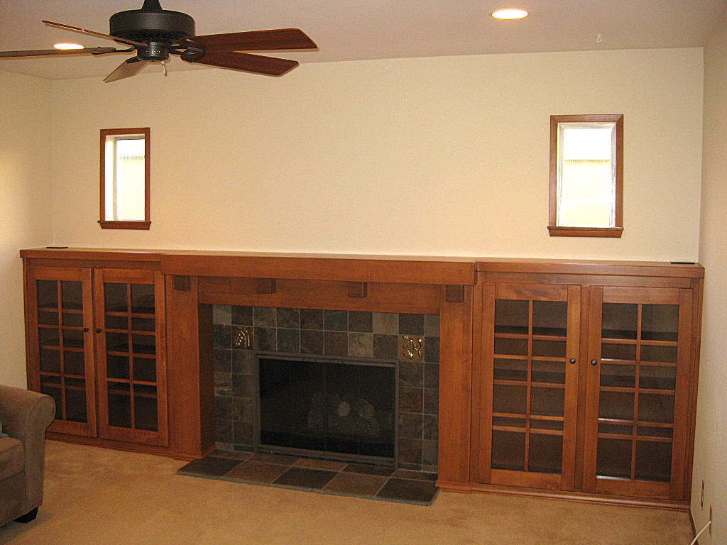 pics photos arts and crafts craftsman fireplace mantel