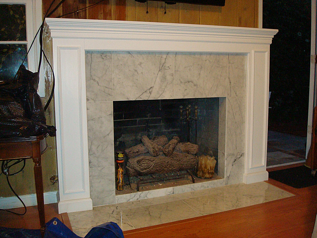 Custom fireplace mantels for Custom fireplace mantels and surrounds