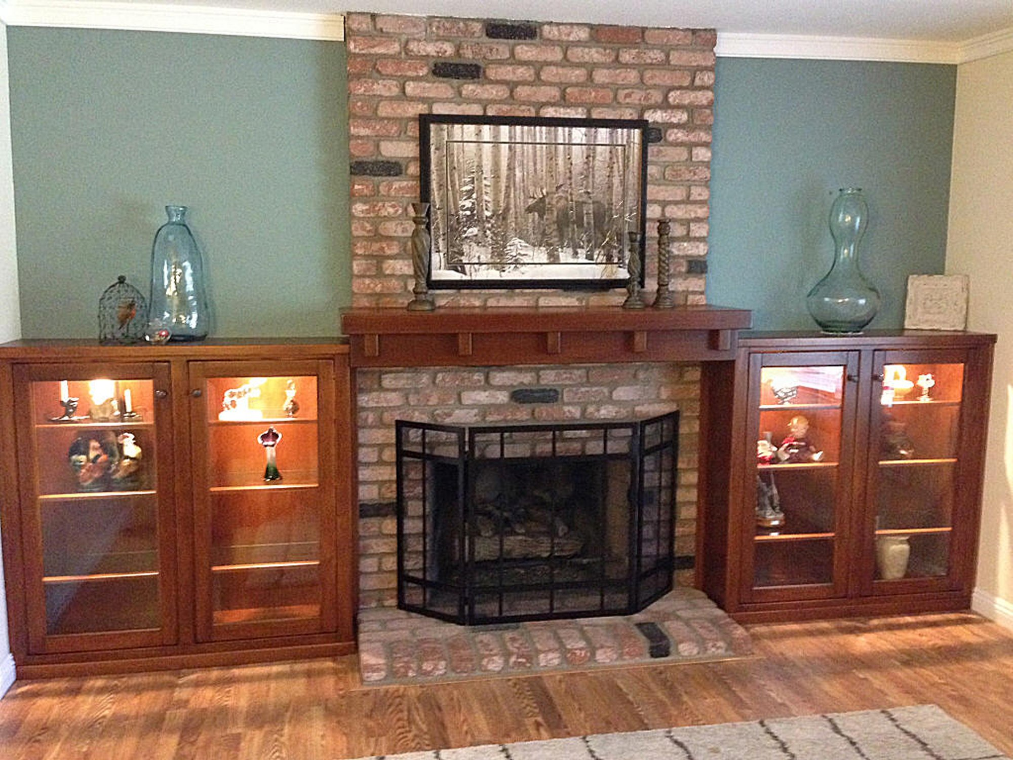 Custom Fireplace Mantels Made In San Diego